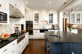 Opening Up a Space to Create a Classic Two-Tone Kitchen