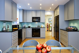 Sophisticated Grey Contemporary Kitchen