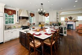 Open Concept Classic Kitchen