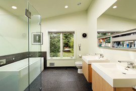 Contemporary Continental Bath