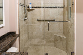 Simple Classic Master Bath